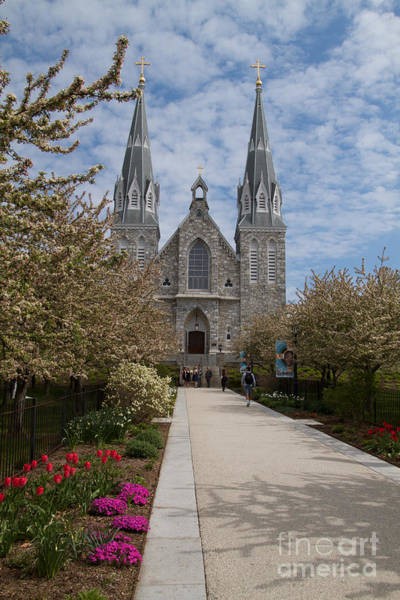 Photograph - Villanova University Main Chapel  by William Norton