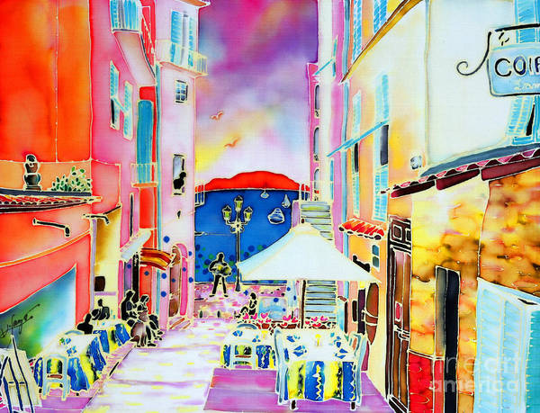 Painting - Villefranche by Hisayo Ohta
