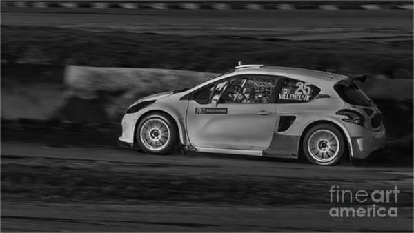 Jacques Photograph - Villeneuve 25 by Nigel Jones