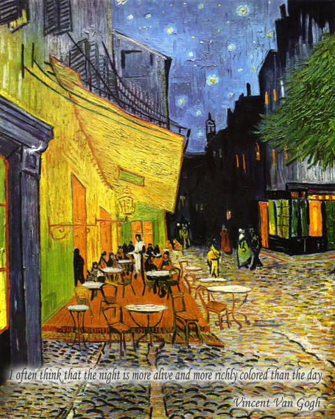 Photograph - Vincent Van Gogh Quotes 2 by Andrew Fare