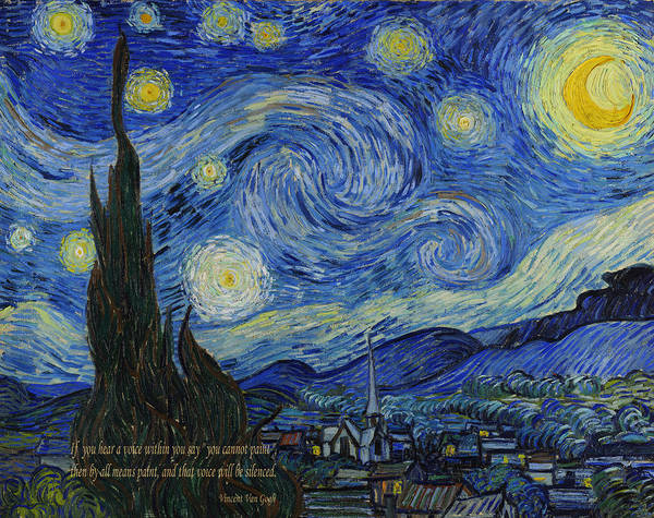 Photograph - Vincent Van Gogh Quotes 3 by Andrew Fare