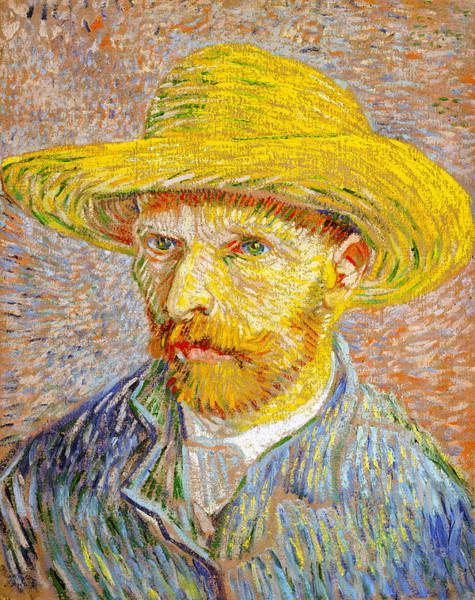 Digital Art - Vincent Van Gogh Self Portrait by Vincent Van Gogh