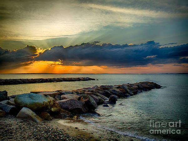 Photograph - Vineyard Haven Sunset by Mark Miller