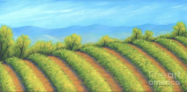 Wall Art - Painting - Vineyard by Jerome Stumphauzer
