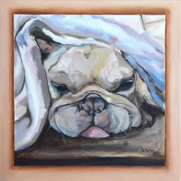 Painting - Vinnie by Donna Tuten