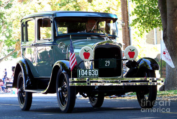 Photograph - Vintage 1929 Model A Town Car by Charles Robinson