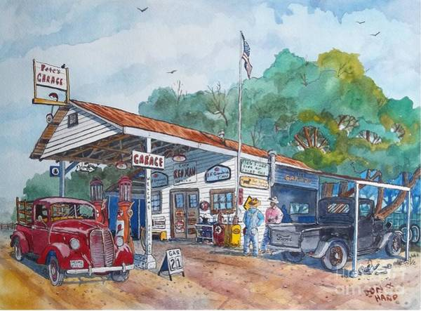 Wall Art - Painting - Cheap Gas by Don Hand
