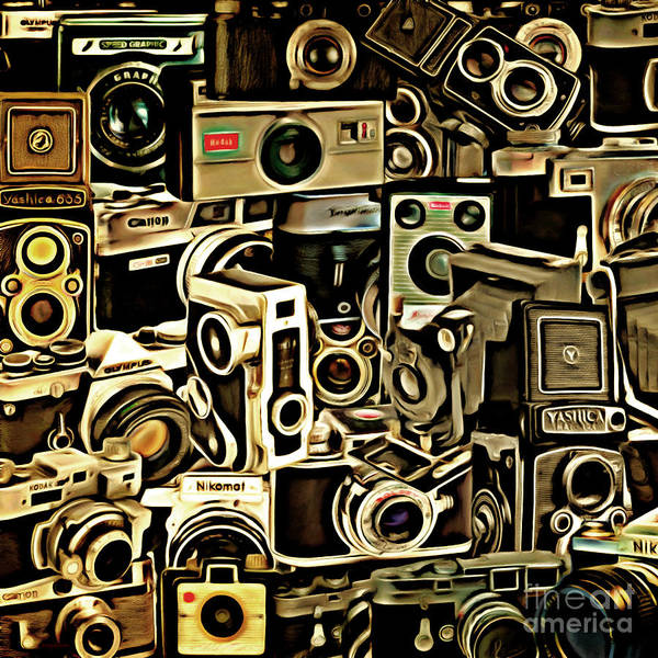 Photograph - Vintage Abstract Photography 20150208 V1 Square by Wingsdomain Art and Photography