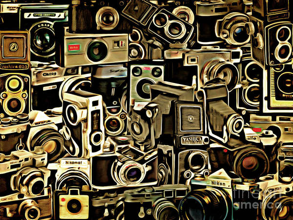 Photograph - Vintage Abstract Photography 20150208 V1 by Wingsdomain Art and Photography