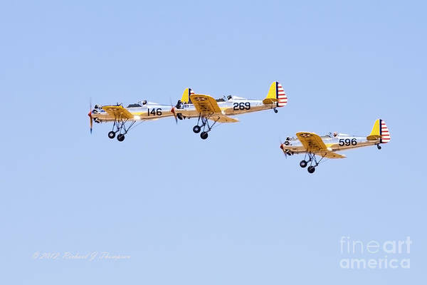 Photograph - Vintage Aircraft 1 by Richard J Thompson