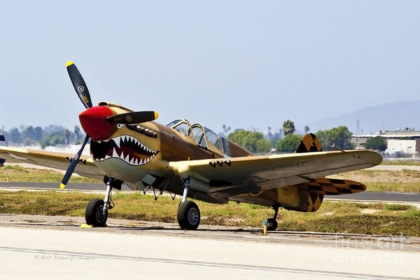 Photograph - Vintage Aircraft 15 by Richard J Thompson