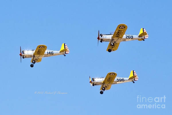 Photograph - Vintage Aircraft 2 by Richard J Thompson