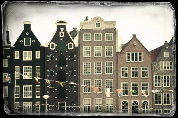 Photograph - Vintage Amsterdam. Old Cards by Jenny Rainbow