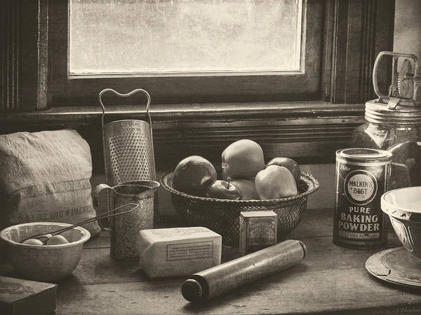 Photograph - Vintage Art - All The Fixings by Jordan Blackstone