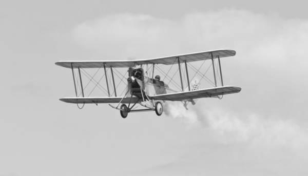 Bleriot Photograph - Vintage Be-2c Aeroplane by Maj Seda