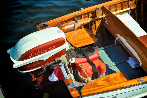 Photograph - Vintage Boat by Les Palenik