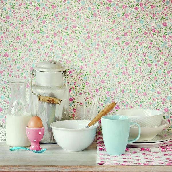 Egg Cup Photograph - Vintage Breakfast by Sonia Martin Fotografias - Www.aquesabenlasnubes.com