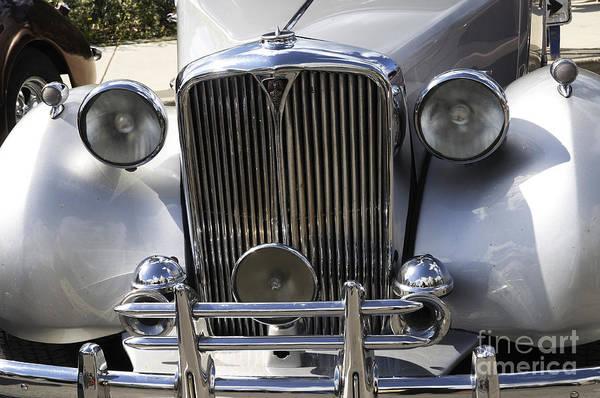 Photograph - Vintage British Rover by Brenda Kean