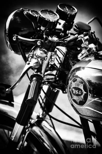 Photograph - Vintage Bsa Goldstar by Tim Gainey