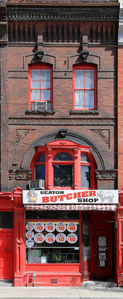 Photograph - Vintage Butcher Shop 1 by Andrew Fare