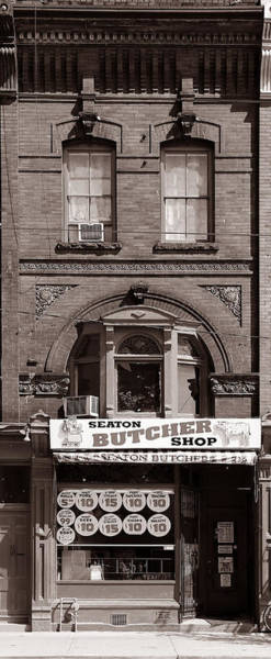 Photograph - Vintage Butcher Shop 3 by Andrew Fare