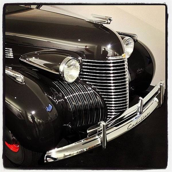 Cadillac Photograph - #vintage #cadillac #headlampart by Mike Valentine