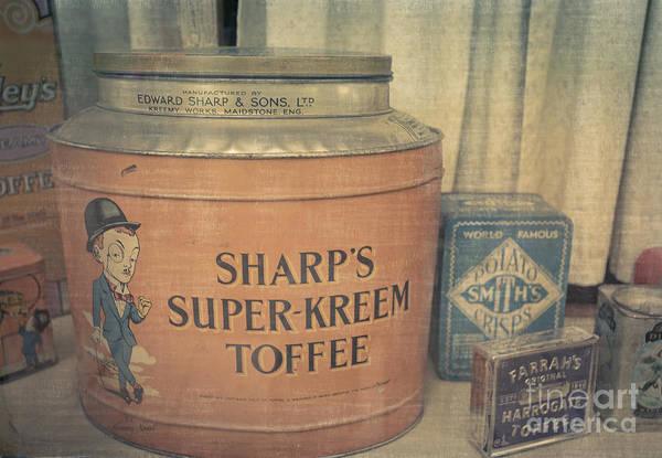 Tin Box Photograph - Vintage Candy by Edward Fielding