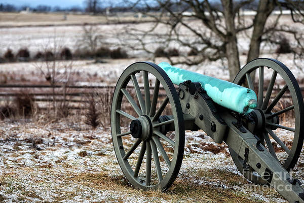 Wall Art - Photograph - Vintage Cannon by John Rizzuto