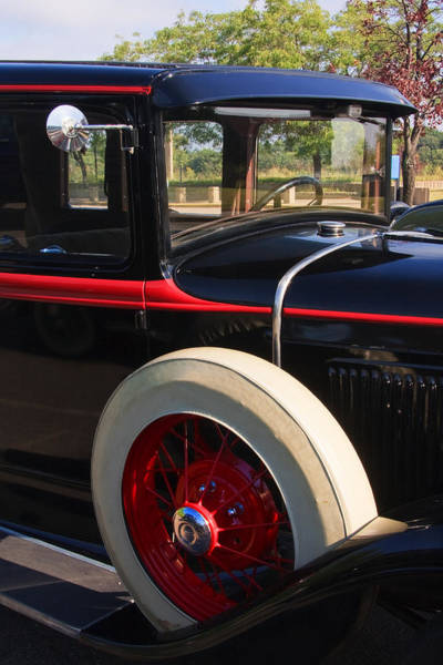 Photograph - Vintage Car by Susan Leonard