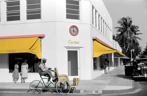 Vintage Cartier Store Art Print