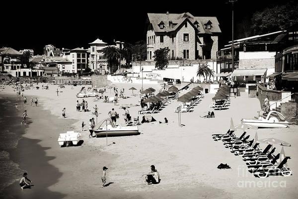 Wall Art - Photograph - Vintage Cascais Beach by John Rizzuto