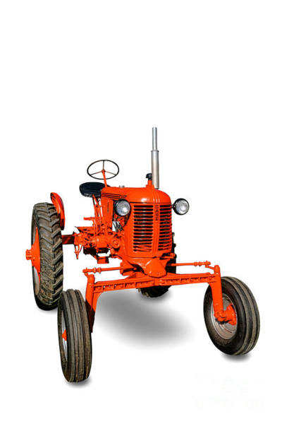 Photograph - Vintage Case Tractor by Olivier Le Queinec