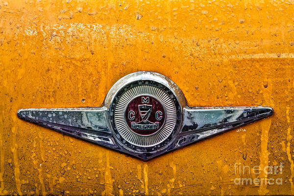 Checker Photograph - Vintage Checker Taxi by John Farnan