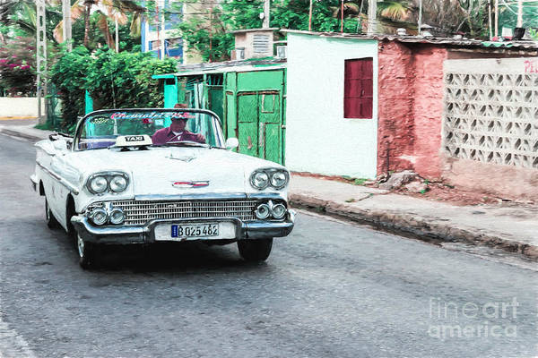 Photograph - Vintage Chevrolet 58 - Painterly by Les Palenik