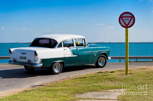 Photograph - Vintage Chevrolet Belair by Les Palenik