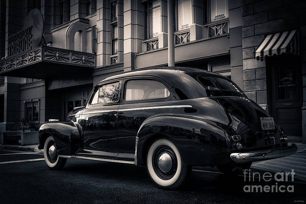 Photograph - Vintage Chevrolet In 1934 New York City by Edward Fielding