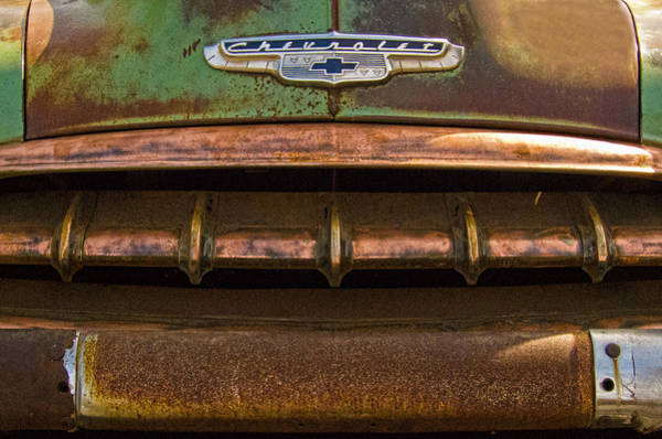 Photograph - Vintage Chevy 2 by Nancy De Flon