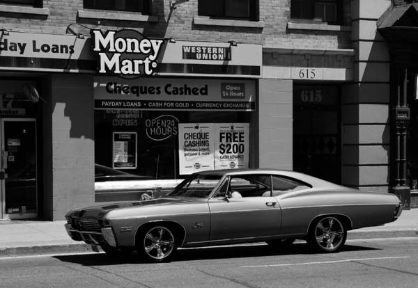 Photograph - Vintage Chevy Impala B by Andrew Fare
