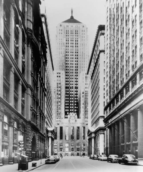 Wall Art - Photograph - Vintage Chicago Board Of Trade by Bob Horsch