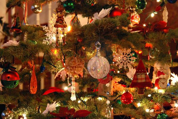 Photograph - Vintage Christmas Tree by Melany Sarafis