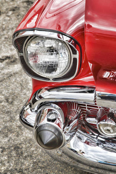 Photograph - Vintage Chrome by Susan Leonard