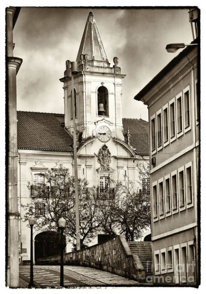 Photograph - Vintage Church In Aveiro by John Rizzuto