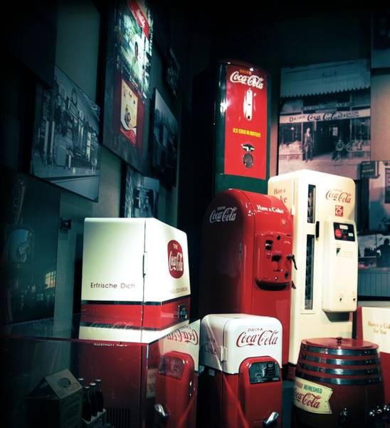 Secret Recipe Photograph - Vintage Coca Cola Machine by Dan Sproul
