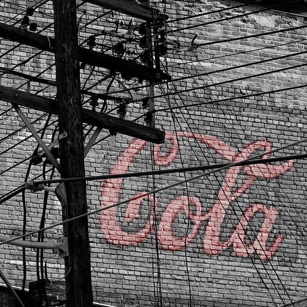 Photograph - Vintage Coca Cola Sign 4b by Andrew Fare