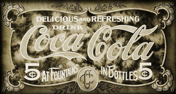 Drink Coca Cola Photograph - Vintage Coke by Ricky Barnard