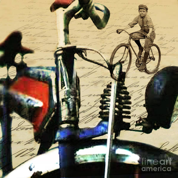 Wall Art - Digital Art - Vintage Cruiser by Sassan Filsoof