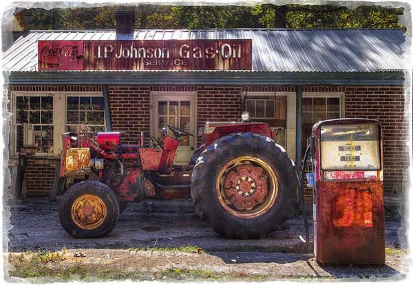 Farmall Photograph - Vintage by Debra and Dave Vanderlaan