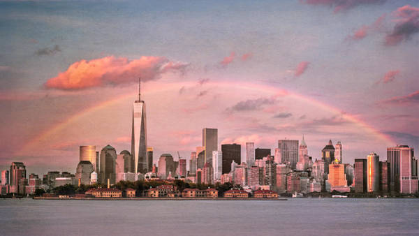 Wall Art - Photograph - Vintage Downtown Rainbow by Eduard Moldoveanu