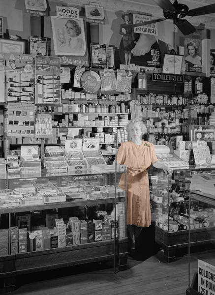 Photograph - Vintage Drug Store by Andrew Fare