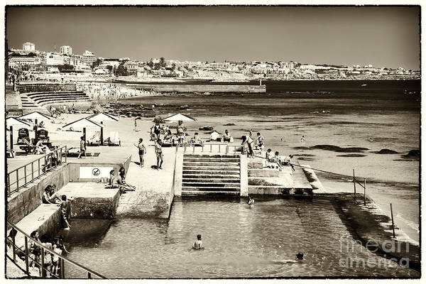 Photograph - Vintage Estoril Coast by John Rizzuto
